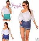 ♥New!♥ Two Tone DelicateThin See Through Jumper Top  ♥ One Size (8/10/12) ♥ ~265