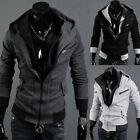 Trendy Men's COOL Cosplay Hoody Hoodie Costume Long Sleeve Coat Jacket 3 Colors