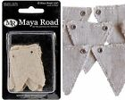 Maya Road ~ Mini Banner Canvas Pieces
