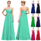 Formal Prom Long Gown Bridesmaid Evening Party Cheap Dress Size 6 8 10 12 14 16