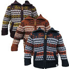 BOYS SOULSTAR KNITTED NORDIC FAIRISLE CARDIGAN INFANTS SWEATSHIRT TOP 2-13 YEARS