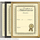 A4 CERTIFICATE PICTURE PHOTO FRAME HANGING GLASS FRONT GOLDEN BLACK SILVER