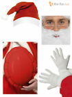 Santa Claus Father Christmas Fancy Dress Costume Accessories Adult Mens Xmas