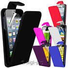 COLOUR PU LEATHER FLIP CASE COVER & LCD PROTECTOR FOR VARIOUS MOBILE PHONES