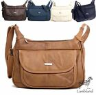 Womens / Ladies Quality Genuine Leather Shoulder / Cross Body Bag
