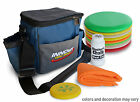 8 Disc Deluxe Starter Set - Disc Golf Bag + Accessory Kit - Gift Bundle PRIME