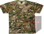 Kids New MTP / Multicam Match Camouflage T-Shirt / HMTC Camo All Sizes