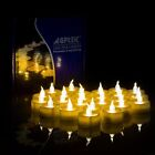12x LED Floating Tea Waterproof Wedding Party Floral Decoration Flameless Candle