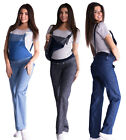 Maternity Trousers Jeans Dungarees Denim Over Bump size UK 8 10 12 14 16 18