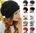 Unisex Winter Plicate Baggy Beanie Knit Crochet Ski Hat Oversized Cap Hat