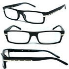 Man Woman Reader Spring Hinge Temple Reading Glasses - RE06 Assorted Color