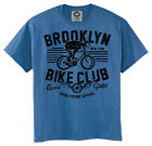New Vintage Style Brooklyn Bicycle Club T-Shirt Shirt Bike Cycling Road