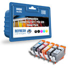 COMPATIBLE CANON PIXMA INK CARTRIDGES CLI-521 / PGI-520 - CHOOSE SINGLE OR PACKS