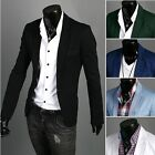 New Fashion Stylish Mens Casual Slim Fit One Button Suit Blazer Coat Jackets Top