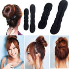 1x Girls Magic Hair Styling Bun Foam Sponge Donut Bun Twist Hair Holder Tool