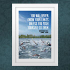 SWIMMING POSTER PRINT- IDEAL BIRTHDAY PRESENT INCLUDE THEIR PICTURE