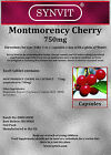 SYNVIT® Cherry Montmorency Cherries (750mg Caps) 1500mg per dose - Keep Active