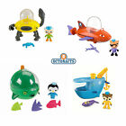 Octonauts Gup B C D E * NEW in Sealed Pack * Fisher Price Meomi Figure Bath Toy