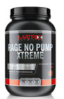 MATRIX RAGE N.O PUMP XTREME - PRE WORKOUT - ENERGY POWDER - NITRIC OXIDE - 600g