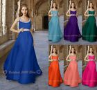 New Beaded Chiffon Long Prom/Party Dresses Evening Bridesmaids Gowns SZ 6-26
