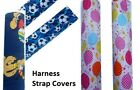 Harness Strap Covers / buggy / car seat / pushchair