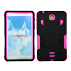 NEW Rugged Impact Hybrid Case + KickStand for Samsung Galaxy Tab 4 8 inch