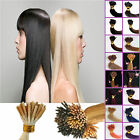 """100 18"""" 20"""" 22"""" 24"""" Pre-Bonded STICK I-TIP 100% REMY Human Hair Extensions"""