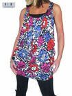 NEW (4896) Sexy Vest Tunic Red Pink Purple SLIGHTY DIRTY Size 8
