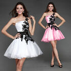 New Short Chiffon Evening Formal Bridesmaid Wedding Ball Gown Prom Party Dresses
