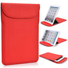 """Kroo R1 Flexi Stand Bicast Leather Slim Travel Sleeve Case for 7.9"""" Tablets"""