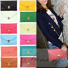 Womens Envelope Clutch Chain Purse Lady Handbag Tote Shoulder Hand Bag Mesg Bag