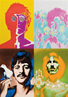 The Beatles , Pop-Art Big Poster , Various Sizes from A3 up to 33'' x 23.2''