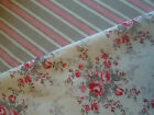 GreenGate 100% Cotton Fabric Sophie Vintage or Zoe Linen by the Metre