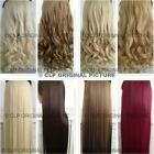 Hair Extensions Curly Straight Synthetic Thick, Long Natural Real Looking