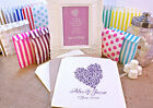 Personalised Wedding Sweet Bags DOT HEART Candy Cart Wedding Favours Confetti En