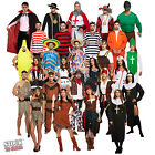 MENS LADIES FANCY DRESS COSTUMES for ADULTS ONE SIZE