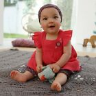 Baby Girl Cute Summer Party Headband+Top+Pant Outfit Costume Clothes Set 3-24M
