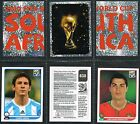 PANINI - World Cup 2010 Football Stickers #121 to #180 (from £0.99) Nigeria etc
