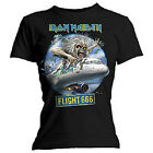 IRON MAIDEN - FLIGHT 666 - OFFICIAL WOMENS T SHIRT - MEDIUM (M)