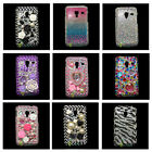 Bling Crystal Diamond Rhinestone Case Cover For Samsung Galaxy Ace Plus GT-S7500