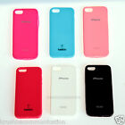 Premium SOFT SILICON SHELL BACK COVER CASE COLOR For Apple iPhone5 iPhone 5 5s b