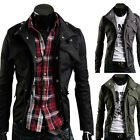 2014 Military Style NEW COOL MALE PJ Men's Stylish Slim Fit Jackets Coats IN UK