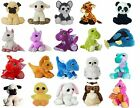 Large Dreamy Eyes Soft Plush Toy Animals Aurora - Choose Your Design - Dinosaur