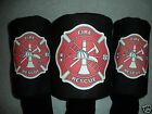 "Fire Department Fire Rescue Golf Headcover Single ""OR"" Set (X, #3, #5) Golf Gift"