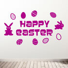 Easter Wall Stickers Modern Transfers & Stickers Diy Deco Shop Window Decals A79
