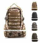 Tactical Molle Assault Hydration Pack Backpack Military 3D 3 Days Hiking Camping