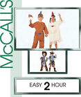 Boy/Girl Cowboy Indian Costume Pattern Choice 2-8 McCall's 2851 NEW
