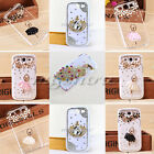 Luxury Diamond Ballet Dancers Clover Case For Samsung Galaxy S3 i9300 Cover Skin