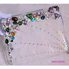Hot Style Bling Color Diamond Clear Case Cover For iPad Air 5  2 3 4  Mini iPad