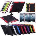 Shockproof Heavy Duty Hybrid Armor Protector Case Stand Cover for iPad 2 3 4
